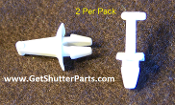 Single Vinyl Louver Connector