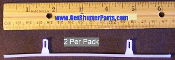 "Vinyl Shutter Vane Connector for 3 1/2"" Louvers"