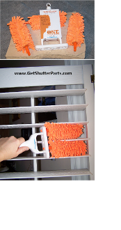 Adjustable Microfiber Shutter and Blind Duster