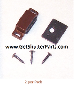 Brown Standard Replacement Shutter Magnet