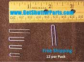 Replacement Shutter Staple- Three sixteenths Crown-Various Lengths