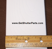 "Replacement Plantation Shutter Louver Kit - Faux Wood Grain 3 1/2"" X 24"""