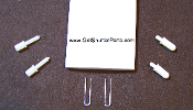 "2 1/2"" X 24"" Plantation Shutter Louver Repair Kit"